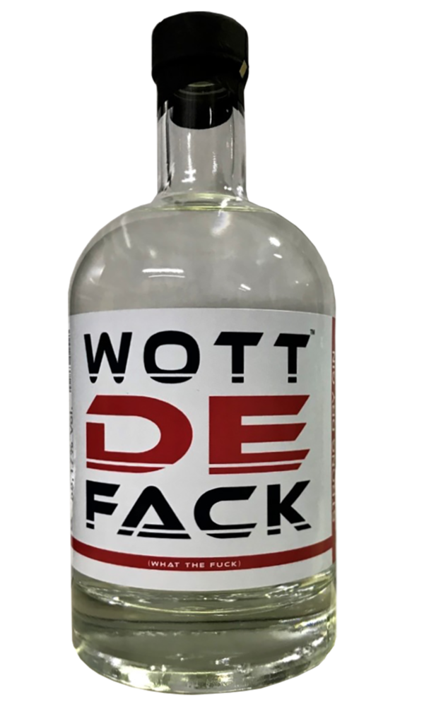 WOTTDEFACK STRONG GIN 55,17% 500ml