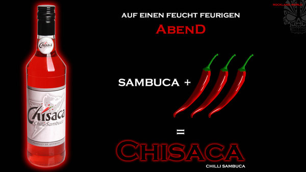 CHISACA CHILLI / CHILI SAMBUCA 38% vol. 700ml