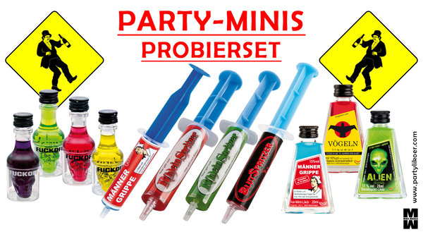 Party-Minis-Probierset 11 x 20ml PartyLiköre
