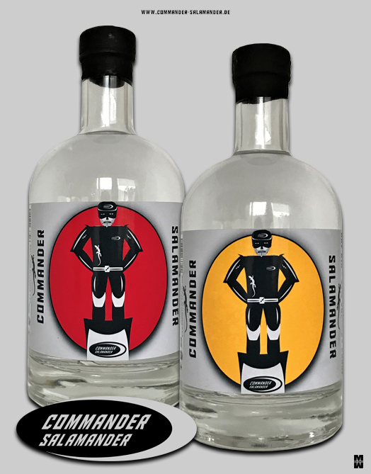 COMMANDER SALAMANDER Vodka & Dry Gin