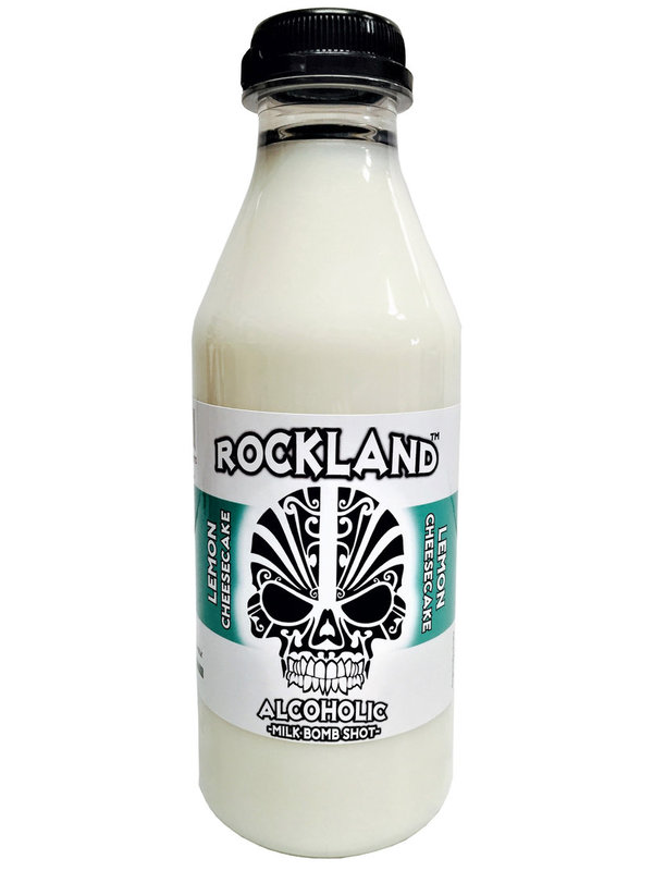 ROCKLAND Milk-Bomb-Shot LEMON CHEESECAKE Flavour Liqueur 15% 500ml