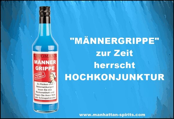 MÄNNERGRIPPE Ice-Mint-Likör 700ml 15% Vol.