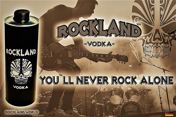 ROCKLAND Vodka / Wodka 1000ml / 1,0 Liter