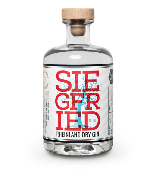 SIEGFRIED RHEINLAND DRY GIN 41% vol. 500ml